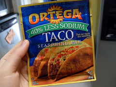 Taco Seasoning for Mexican Turkey Burgers