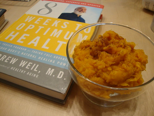 sweet potatoes and Dr Weil