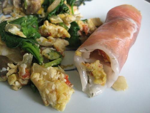 Prosciutto Egg Roll by CaptainShen