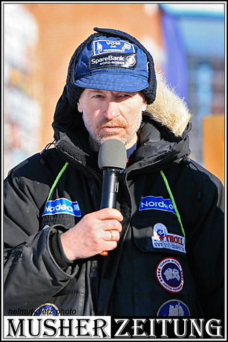 Finnmarkslopet: Roger Dahl in Alta