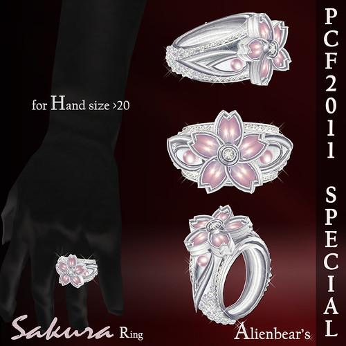 PCF Sakura Special ring