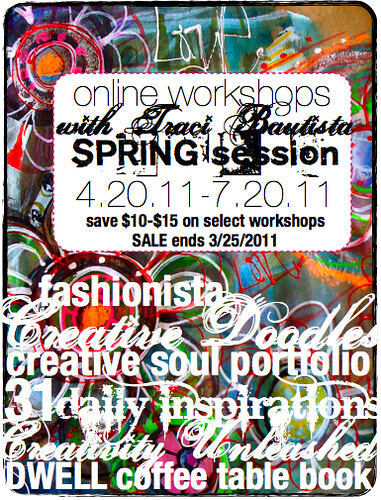 spring online workshop sale
