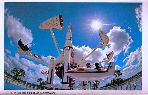 WDW Tomorrowland Postcards  1