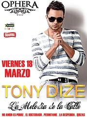 Tony Dize - Ophera Disco