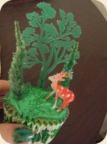 Forest Cupcake