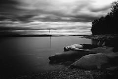 Cloud Bathing (jimianderson) Tags: longexposure blackandwhite water nashville