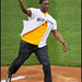 Shawn Kemp - First Pitch