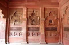 Jahangiri Mahal (Badly Drawn Dad) Tags: agra geo:lat=2717754352 16thcentury agrafort geo:lon=7802302553 geotagged ind india uttarpradesh jahangirimahal
