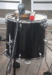 Cylindrical Drums 30: Surdo (of Yves Finzetto) (KM's Live Music shots) Tags: musicalinstrument hornbostelsachs membranophone surdo bassdrum drums brazil panoramadochoro hornimanmuseum