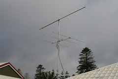 "VK9NA 6m and 2m antennas • <a style=""font-size:0.8em;"" href=""http://www.flickr.com/photos/10945956@N02/5383684763/"" target=""_blank"">View on Flickr</a>"