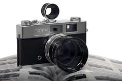 Konica Auto S2 with Sun Telenet Attachment (darronbarnes) Tags: auto camera sun film attachment restored konica s2 telenet