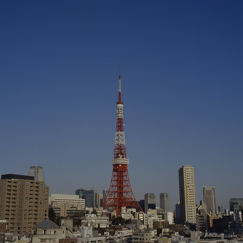 Tokyo Tower go to sky!