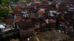 Hometown of  Brantas River (smileshoot02) Tags: river village tilt sungai tiltshift brantas smileshoot