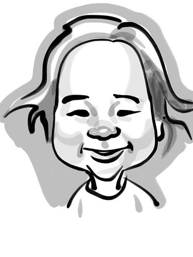 Jiaxi Zen Brush caricature