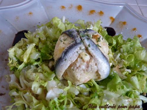 boulettes de crevettes et céléri