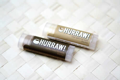 Hurraw! Coffee Bean & Chai Lipbalm