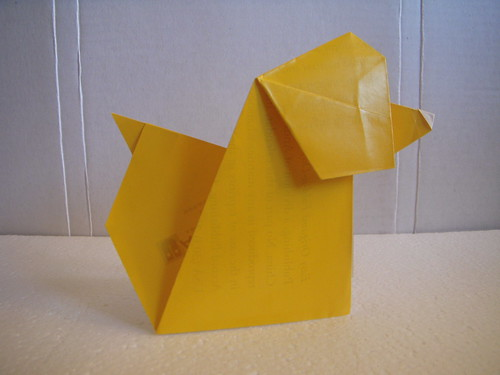 Origami #20: Barking Dog
