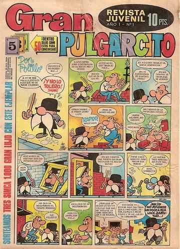 024-Gran Pulgarcito nº1  portada año 1969