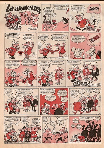 025-La abuelita paz- Gran Pulgarcito nº1 1969