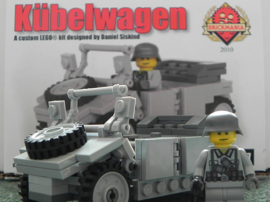 The World's newest photos of brickmania and kübelwagen - Flickr Hive