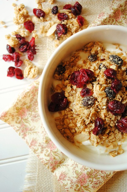 Raisin and Cranberry Granola