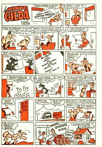 017-Las hermanas Gilda-Pulgarcito nº 1405- año 1958