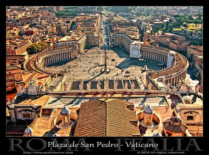 Roma - Plaza de San Pedro - Vaticano