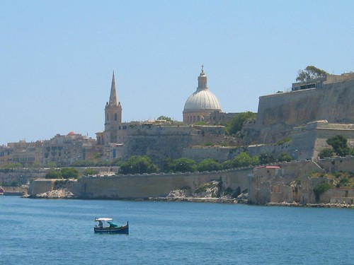 Valletta at a distance