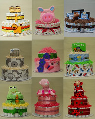 Baby shower gifts. Diaper Cakes. New or Expecting Parents Gifts (Thirsty Cake - Diaper Cakes and Baby Gifts) Tags: ca mi ar id nj il va co mn wi babyshowergifts