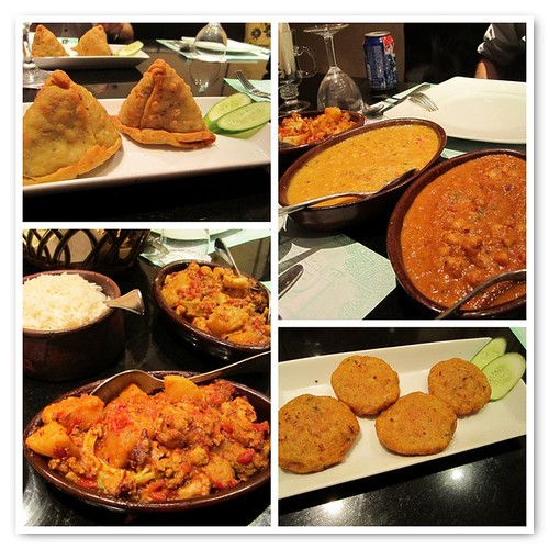 Vegan Indian Food From Nawab in Cairo, Egypt