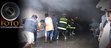 Incendio consume mercado en Tecún Umán.