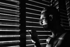 behind the window (matteo | sartori) Tags: white black window self nikon images finestra getty behind matteo bianco nero dietro d300 tapparella sartori chiusa febbraio2011challengewinnercontest