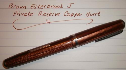 Brown Vintage Esterbrook J