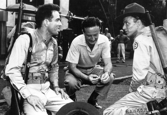 Montgomery Clift, Fred Zinneman and Frank Sinatra
