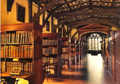 Duke Humphrey's Library, Bodleian