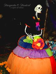 Todos Santos (Nimmue Monterd) Tags: skulls skull islands maggie offering unam calavera ofrendas ofrenda offerings calaveritas lasislas megaofrendas nimmue