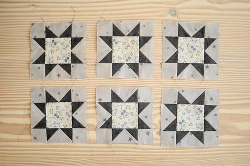 Quilt Sampler 2 : Sawtooth Stars