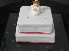 Angel Cake (Mocka Arte En Azcar - www.mocka.co) Tags: cakes weddings babyshower bautizo ceremonia babtism bautizos primeracomunion firstcomunion matrimonios ponques