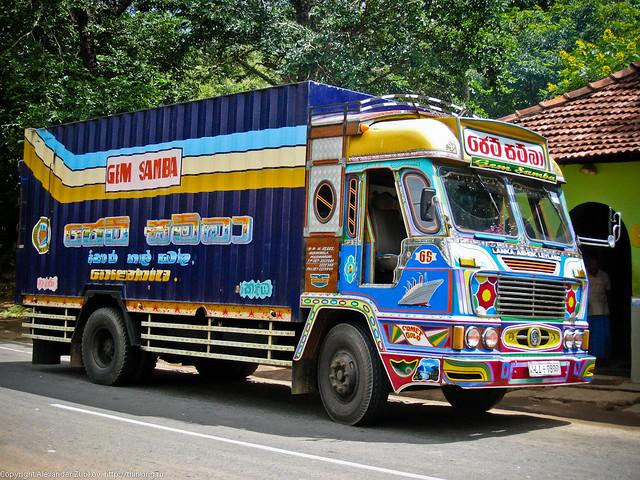Гламурный грузовик