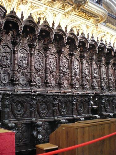 Coro catedral, detalle 4