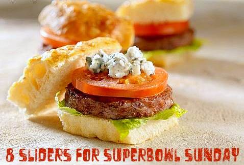 8 Sliders for Superbowl Sunday