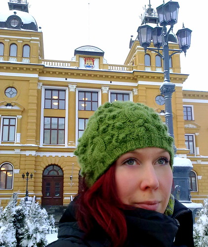 Tourist in Oulu