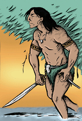 Barbarian Dude