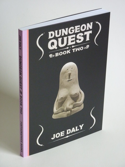 Dungeon Quest Book 2 by Joe Daly - front cover