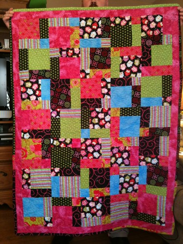 Willa's owl quilt.