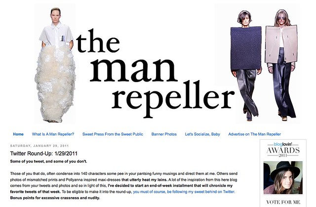 The Man Repeller for On the Radar