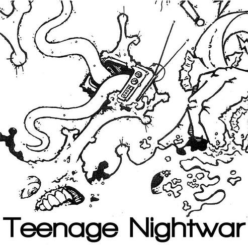 "Teenage Nightwar 7"" cover"