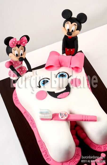 Minnie Mickey Dis Bugdayi Pastasi