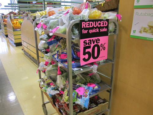 Reduced Produce at Loblaws