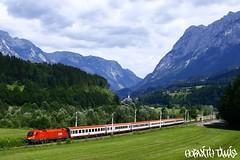 1116 073-6, 21.07.2009, Bishofshofen (mienkfotikjofotik) Tags: eisenbahn railway taurus bahn bb kolej 1116 sterreichische vast es64u2 bundesbahnen bb